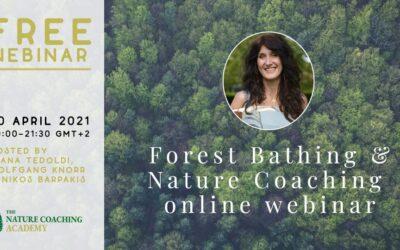 forest bathing e nature coaching: corsi internazionali